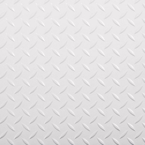 Diamond tread white 300px