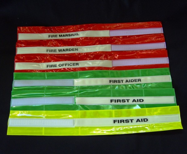 Glow in the Dark Safety Armbands